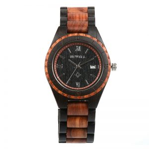 Мужские деревянные часы Bewell ZS-W128A